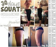 Yeah she squats