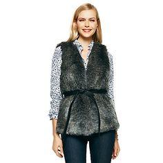 Faux Fur Vest / C.Wonder