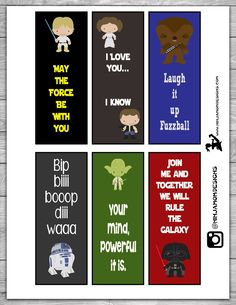 Free May the 4th BookMarks Cover 2