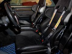 Mosselman TT interior, recaros as standard but shame about the weird carpet.