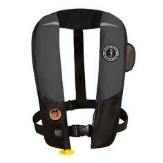 Mustang HIT Inflatable Automatic PFD - Gray/Black - https://www.boatpartsforless.com/shop/mustang-hit-inflatable-automatic-pfd-grayblack/