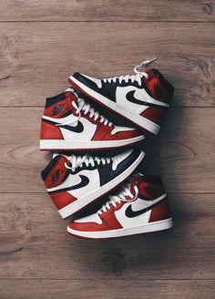 huge selection of a926b ca3bd Nike Air Jordan 1 (by jamiepaige) Nike Air Jordans, Nike Air Max,