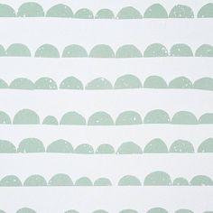 Behang Half Moon mint groen van Ferm Living