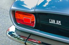 Car Tail Light Images by Jill Reger - Images of Tail Lights - Car Taillight Images - 1971 Iso Grifo Can Am Taillight Emblem