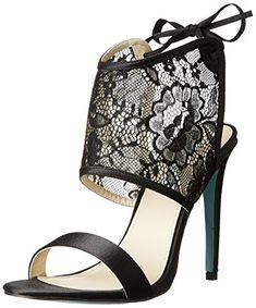 Betsey Johnson Sloan Damen US 6 Schwarz Sandale - http://on-line-kaufen.de/betsey-johnson/36-5-eu-betsey-johnson-sloan-offener-spitze-spitze