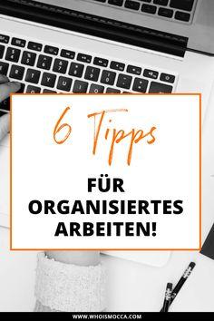 Heute gibt es auf meinem Blog 6 Tipps für organisiertes Arbeiten und auch ein Home Office Update. Alle Infos und Tipps jetzt online!