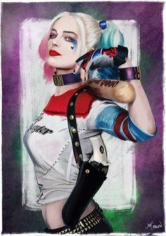 "herochan: ""Harley Quinn Created by Jim Cadogan """