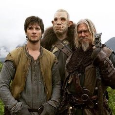The Seventh Son - on set