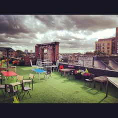 Dalston Roof Park in Hackney, Greater London
