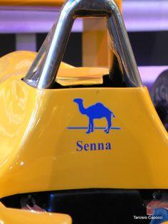 F1 Camel Team Lotus Honda - Senna