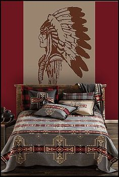 Southwestern Bedroom Decor   Bedroom Style Ideas. American Indian Decor Native ...