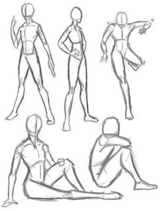 Check out the Anime Poses Image Drawing available in HD resolution. You can easily share this amazing drawing image with your friends and family. Anatomy Sketches, Anatomy Drawing, Anatomy Art, Art Drawings Sketches, Human Drawing, Gesture Drawing, Drawing Poses, Drawing Drawing, Drawing Practice