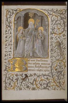 Réseau des Bibliothèques de l'Université de Liège; Livre d'heures de Jean de Lannoy (ms. Wittert 14, f° 164)  Hainaut, XVe s.