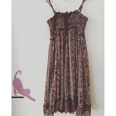 Brand-no brand listed, size-medium, fits like a small/medium beautiful brown spaghetti strap lace up dress with lace edging -$20.00 free shipping- link in bio            Payment via PayPal only. Purchases are shipped within 1-3 business days of payment via Japanese Standard Air Mail with no tracking unless notified to add tracking for additional cost. Air mail usually takes 7-10 days to arrive   Returns accepted-buyers responsible for return shipping…