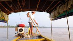 Mékong, Dolphins,  Kratie, Cambodia