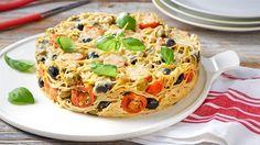 W Kuchni Lidla zobaczysz, jak wykorzystać nadmiar ugotowanego makaronu! Poznaj przepis na zapiekankę makaronową z oliwkami!