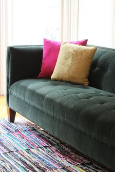 How To Clean Velvet Upholstery — Apartment Therapy Tutorials | Apartment Therapy