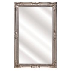 Add some romantic reflection to your decor with this Silver Carlisle Wall Mirror. The carved detail and silver finish will be the elegant touch to any room. The Warehouse Beautiful Mirrors, Carlisle, Home Accessories, Oversized Mirror, Carving, Romantic, House Design, Silver, Decor