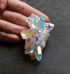 Angel Aura Quartz cluster - Čarobni kutak