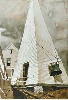 Fog Bell ByAndrew Wyeth