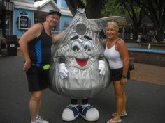 Our favorite place - Hershey Park - Got engaged at the Kissing Tower