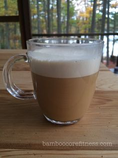 Bulletproof Coffee: This recipe makes the creamiest, most delicious cup of coffee I've ever had. It keeps me satisfied with energy for hours, and because I drink it in the morning, I tell my body to burn fat all day long. Oorah! :) YUM!!