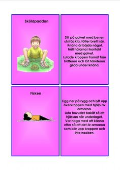 Yoga For Kids, Yoga Meditation, Back To School, Grupp, Education, Massage, Learning, Beginning Of School, Back To College