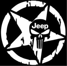 The Punisher Skull Car Sticker Pentagram Vinyl Decals Motorcycle Accessories 0255 Jeep Stickers, Jeep Decals, Vinyl Decals, Monogram Car Decals, Cool Car Stickers, Wall Decals, Wall Stickers, Punisher Skull Decal, Punisher Logo