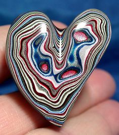 Solid Detroit Agate / Fordite Cabochon   TOP GRADE by suzybones