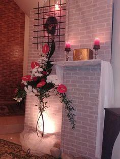 Flamingo, Floral Arrangements, Home Decor, Altars, Rose Flower Arrangements, Homemade Home Decor, Flower Arrangements, Flamingos, Flower Arrangement