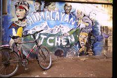 Wall Art, Kathmandu, Nepal  ©Steve Gillick
