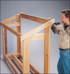 Easy Carpentry Projects - Shed Plans - Firewood Shelter 4 Now You Can Build ANY Shed In A Weekend Even If Youve Zero Woodworking Experience! Easy Carpentry Projects - Get A Lifetime Of Project Ideas and Inspiration! Outdoor Firewood Rack, Firewood Shed, Firewood Storage, Outdoor Storage, 10x10 Shed Plans, Wood Shed Plans, Bench Plans, Woodworking Projects Diy, Woodworking Plans