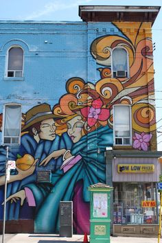 Mural in Cabbagetown