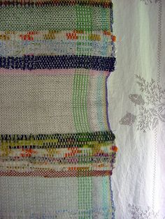 rag & linen by Avalanche Looms