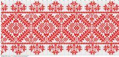 Dažādi raksti rūtiņu tehnikā - Rokdarbu grāmatas un dažādas shēmas Hungarian Embroidery, Folk Embroidery, Learn Embroidery, Chain Stitch Embroidery, Embroidery Stitches, Embroidery Patterns, Cross Stitch Borders, Cross Stitch Patterns, Stitch Head