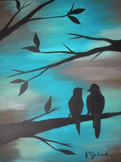 Wine and Canvas nights are so awesome! I went for this one! :)