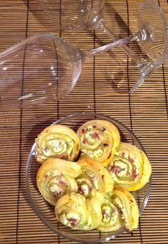Ramona's Bäckerei: Blätterteig-Röllchen