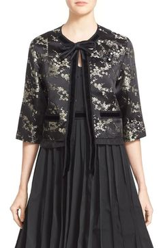 MARC JACOBS Cherry Blossom Jacquard Jacket available at #Nordstrom