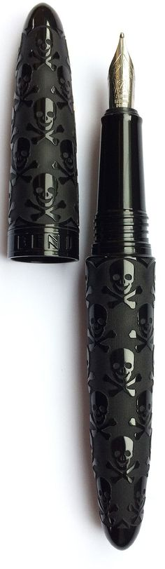Black Skull BENU Fountain pen