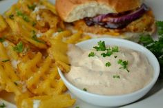 Not just for waffle fries! Try this on sandwiches, burritos and for dipping chips.
