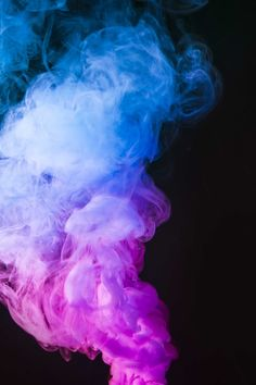 Abstract blue and pink smoke move on black color background Free Photo Black Colour Background, Textured Background, Backgrounds Free, Colorful Backgrounds, Smoke Wallpaper, Pink Wallpaper, Rauch Tapete, Free Photos, Cool Photos