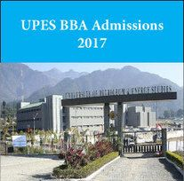 CoMES, UPES announces BBA admissions 2017