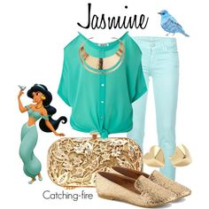 Totally going to start dressing like Disney characters in day to day life! Disney Character Outfits, Disney Princess Outfits, Disney Themed Outfits, Disney Bound Outfits, Disney Dresses, Princess Clothes, Disney Clothes, Disney Princesses, Disney Characters
