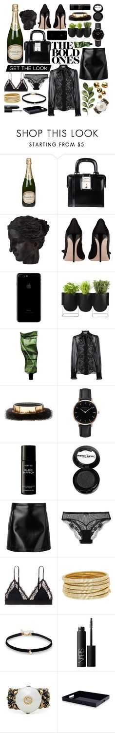"""""""The Bold Ones"""" by cherieaustin on Polyvore featuring Perrier-Jouët, Dsquared2, Ren-Wil, Authentics, Aesop, Dolce&Gabbana, Marni, Topshop, Byredo and Manic Panic NYC"""