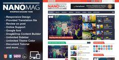 ThemeForest NanoMag v1.4 – Responsive WordPress Magazine Theme