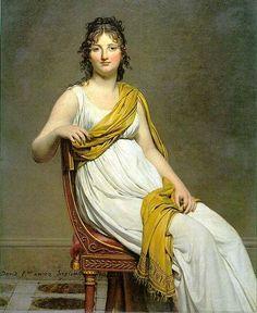 "Jacques Louis David ""Madame de Verninac"" 1799"