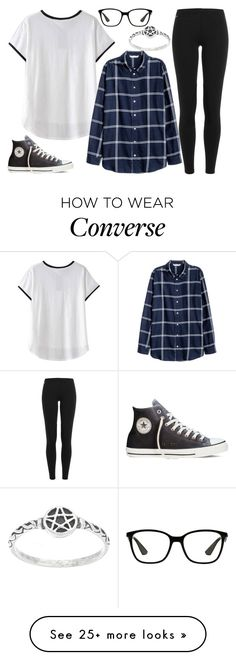 """9.16"" by believe-dream-inspire on Polyvore featuring Polo Ralph Lauren, Converse and Ray-Ban"