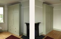 built in wardrobes in alcoves with very high ceilings - Google Search