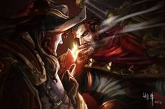 Twisted Fate & Graves Partnership