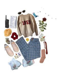 """""""got everything?"""" by abundanceoffreckles ❤ liked on Polyvore featuring art"""